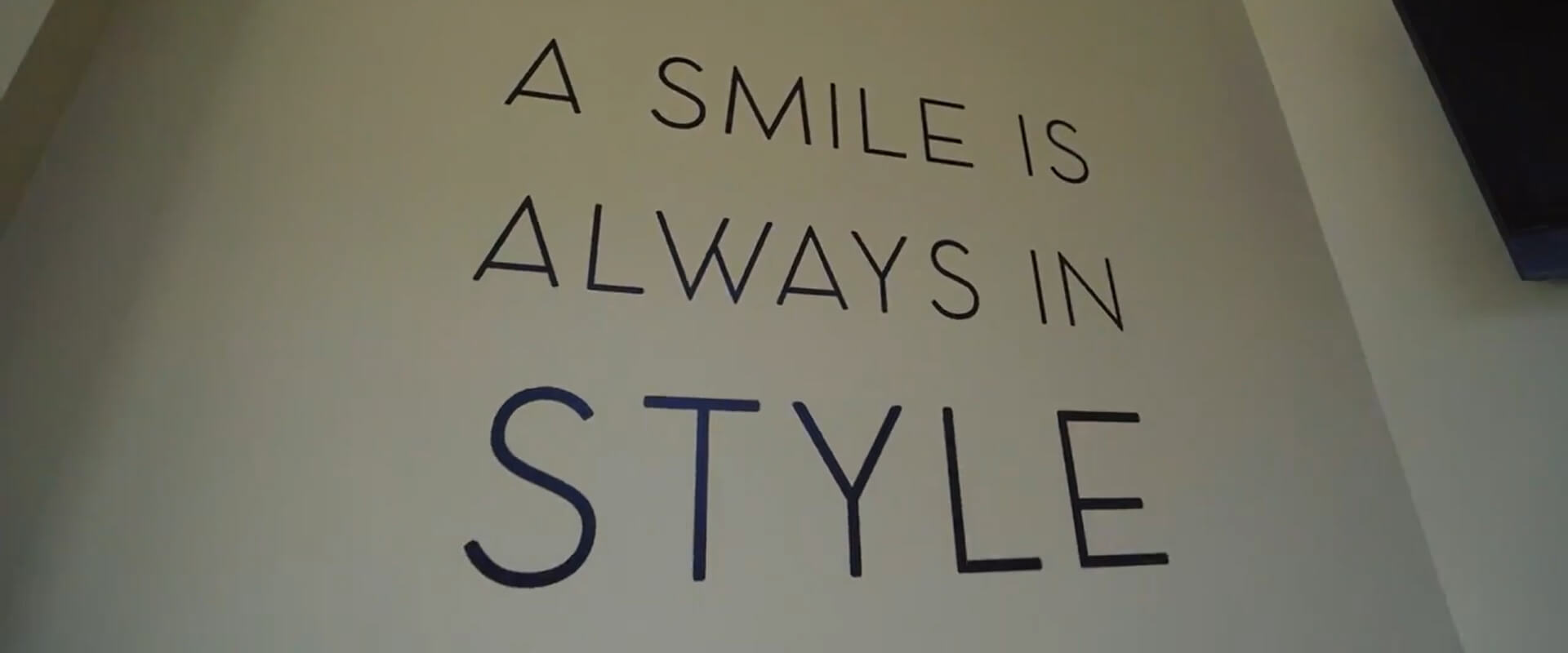 A smile is always in style