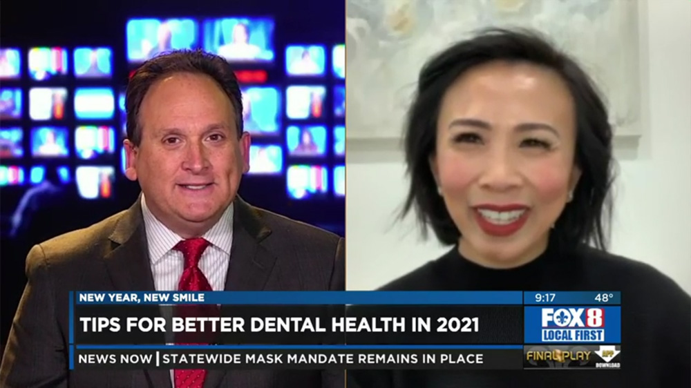 Tips for better dental health in 2021 - Trinh Do Featured on Fox 8